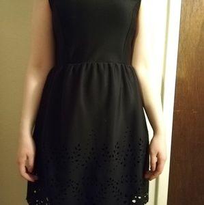 Black dress with design